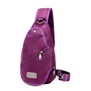 Women Oxford Crossbody Bag Girls Chest Pack Travel Bag