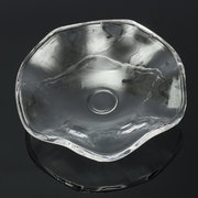 Clear Glass Fragrance Diffuser Lamp Oil Dish Essential Oil Holder