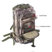 Man Oxford Camouflage Jungle Backpack Tactical Package Shoulder Bag