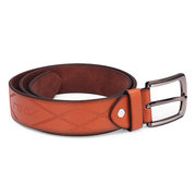 Mens Business Casual Pin Buckle Leather Belt