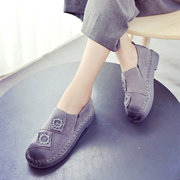 Cute Flower Comfortable Slip On Casual Flat Loafer