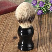 Badger Hair Shaving Brush Shave Beard Brushes with Black Resin Handle For Men