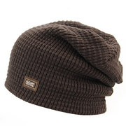 Men Women Knitted Skiing Beanie Skull Cap Winter Warm Beanies Solid Color Hat