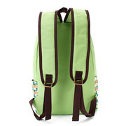 National Women Floral Print Canvas Backpack