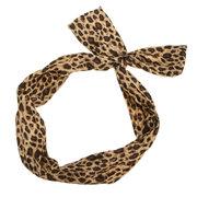 Retro Polka Dot Hair Band Ear Ribbon Headband Turban Hair Accessories