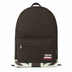 Women Candy Color College Style Canvas Backpack