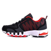 DELOCRD Big Size Mens Mesh Color Match Breathable Sport Running Sneakers