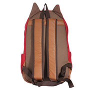 Cute Canvas Cat Ear Backpack Women Travel Backpack