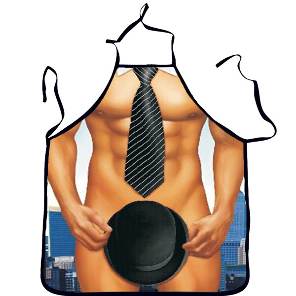 Naked In The Kitchen: Preiswert Washable 3D Muscle Male Apron Naked Muscle Men