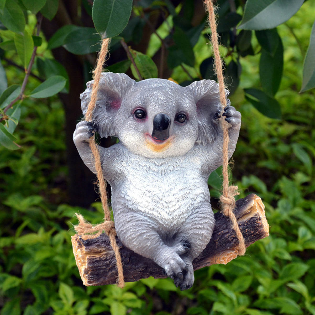 Koala Swing Animals Garden Ornaments Yard Statues Home Decor