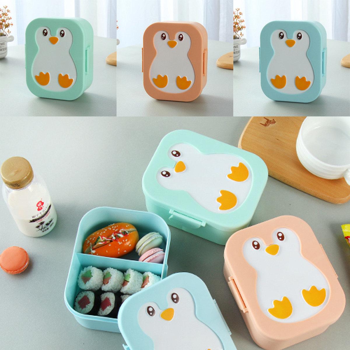 Plastic Cute Penguin Bento Box Kids Lunch Box Food Container Box Microwavable & Plastic Cute Penguin Bento Box Kids Lunch Box Food Container Box ... Aboutintivar.Com