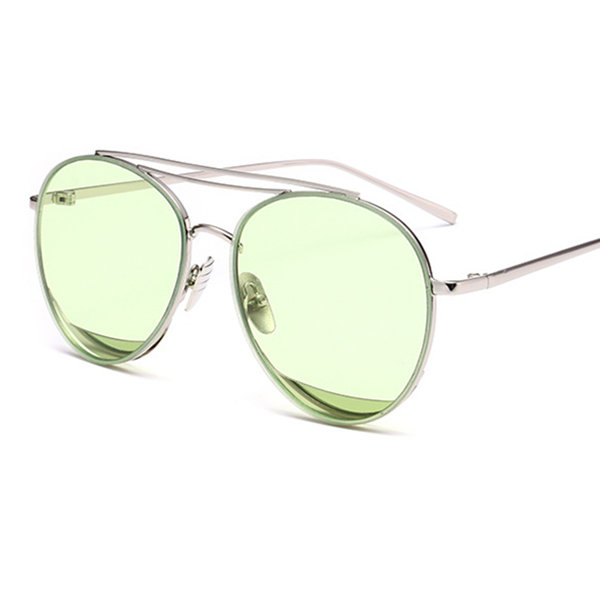Men Women Water Droplets Shape Colorful Sunglasses Outdoor Casual Eyeglass Glasses