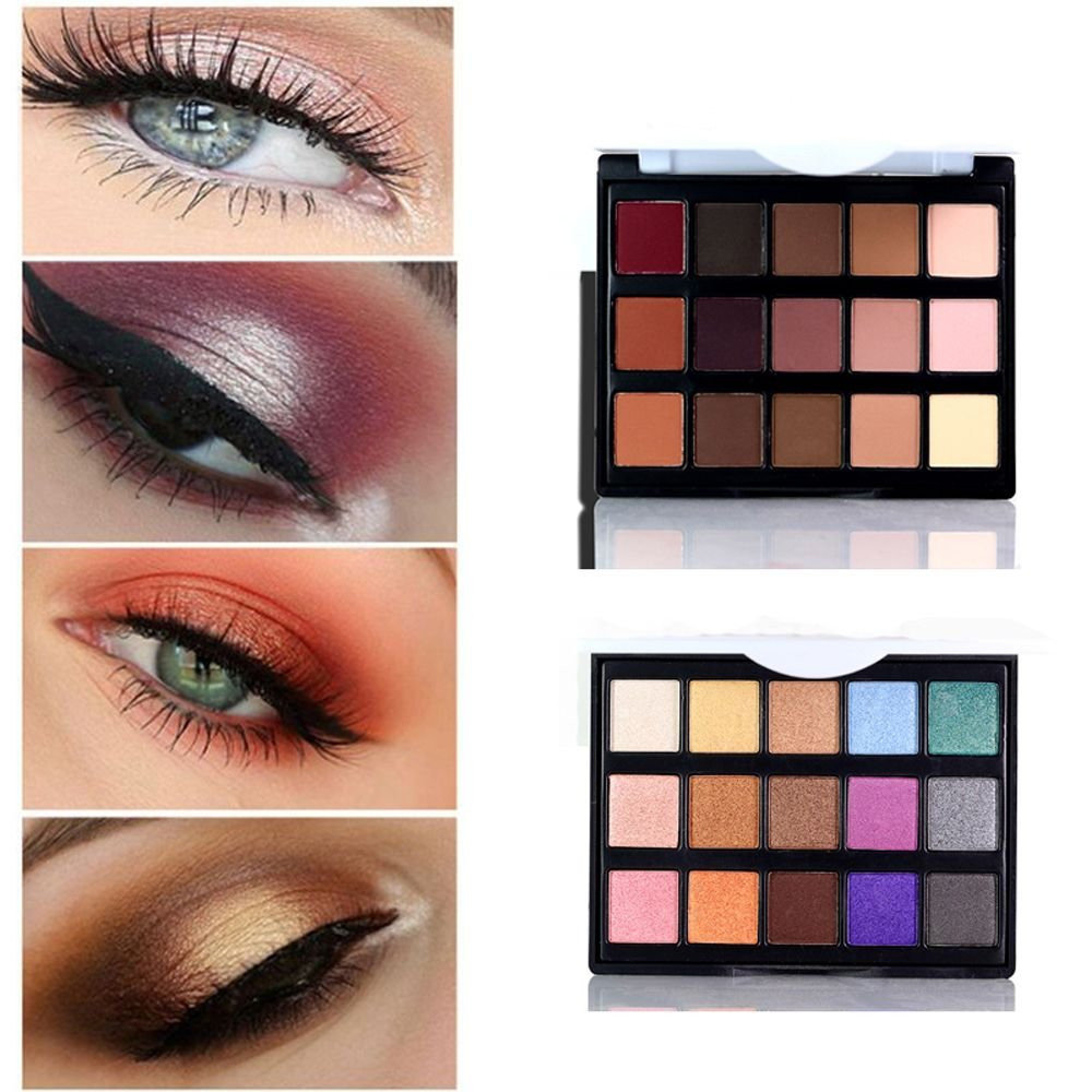 Popfeel Eyeshadow Makeup Palette Natural Eyes Makeup Light Eye Shadow  Shimmer Matte Eyeshadow Set