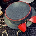 Girl Sweet Cute Round Shopping Crossbody Bag Hat Pattern Shoulder Bag