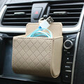 Auto Air Vent Car Storage Bag
