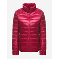 Portable Thin Women Down Light Jackets