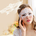 Half Face Black Lace Hollow Eye Face Mask