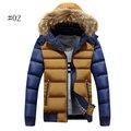 Thicken Warm Detachable Hood Jacket
