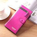 Women Stylish Long Wallet Zipper Purse Card Holders