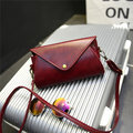 Vintage PU Leather Hasp Crossbody Bag Shoulder Bags Phone Bags