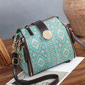 National Rtro Geometric Pattern Messenge Bag