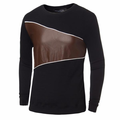 Casual Splice Pullover Stylish Sport Long-sleeved Sweatshirt For Men