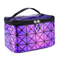 PU Leather Cosmetic Bags Travel Organizer Necessaries Makeup Storage 4 Colors