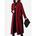 Casual Thicken Solid Color Long Sleeve Women Cardigans