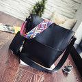 Женщины Стильная кожа PU Сумочка Съемные геометрические паттерн плеча сумки