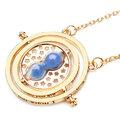 Ожерелье с вращающимся песочным стеклом, ожерелье с часовым механизмом времени