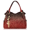 Women Vinage Hollow Out Pendant Shoulder Bags Elegant Retro Handbags