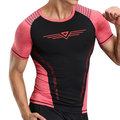 Mens Quick-drying Breathable Skinny Fit Tops Fitness Training Jogging Sport T-shirt