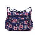 Women Nylon Casual Waterproof Multi-pocket Shoulder Bags