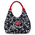 Women Casual Nylon Handbag Multicolor Portable Tote Bag