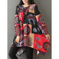 Gracila Ethnic Printed O-Neck T-shirts