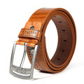 110CM Men Retro Cowboy Leather Belt