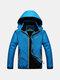 Открытый Повседневный Скалолазание водостойкой Anti-Ветер дышащий с капюшоном Спортивная куртка для мужчин