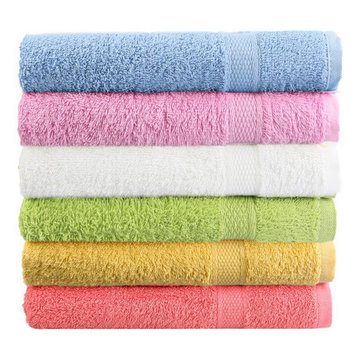 Buy 80x50cm Soft Cotton Bath Beach Towel Super Absorbent Loose Terry Face