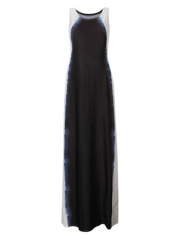 Элегантное платье для женщин без рукавов с длинными рукавами