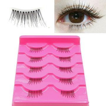 5 пар Натуральные накладные ресницы 3D Eye Lashes Длинные косметические средства для макияжа