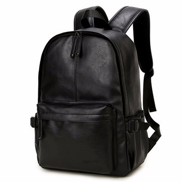 Women Men Black Casual Travel Outdoor Backpack Girls Leisure Schoolbags