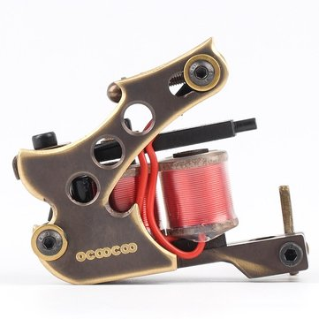 OCOOCOO T100A Pure Copper Secant Tattoo Machine Высокопроизводительный 10000 R / M