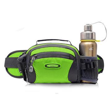 Men Women Outdoor Sport Waist Bag Shoulder Travel Nylon Crossbody Bag
