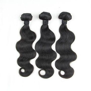 5A Grade Brazilian Wave Virgin Unprocessed Body Real Human Hair Extension