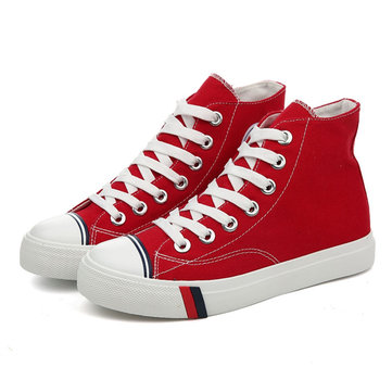 M.GENERAL High Top Young Chic Flat Casual Shoes For Women