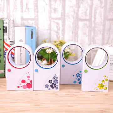 Mini USB Flower Air Conditioning Fan Creative Handheld Small Portable Cooler Fan