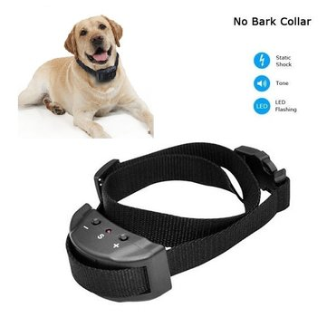 Anti-Bark No Bark Electric Vibration Adjustable Dog Pet Electronic Training Collar