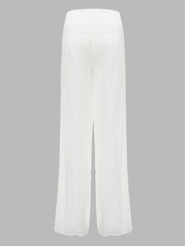 OL High Waist Wide Leg Chiffon Loose Elegant Women  Pants