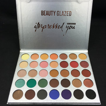 Beauty Glazed 35 Colors Eyeshadow