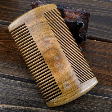 Spazzola anti-statica della barba della spina e del baffi Handmade della sandalo
